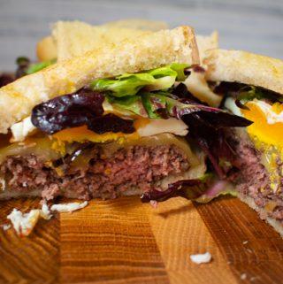 Hamburger-Sandwich